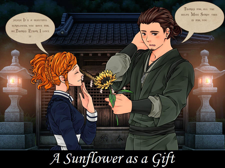 A Sunflower as a gift by SweetHonestyKeysha