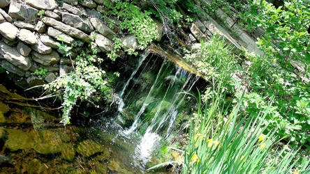 Waterfall! by JustPlainDeviant