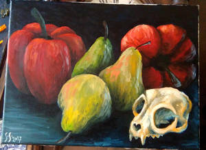 Skull and Pepper by septima-severa