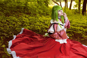 C.C. - Code Geass: Lelouch of the Rebellion by GarnetTilAlexandros