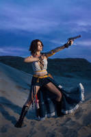 Yuna - Gunner by GarnetTilAlexandros