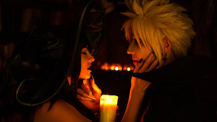Halloween is coming - Tifa and Cloud by GarnetTilAlexandros