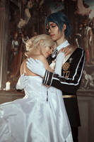 May you two know happiness - Luna and Noctis by GarnetTilAlexandros
