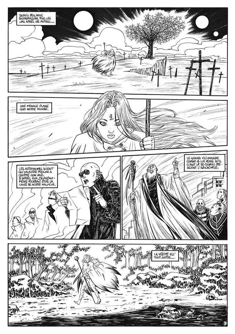 CONTEST#6 - La menace - Page 1 by aexons