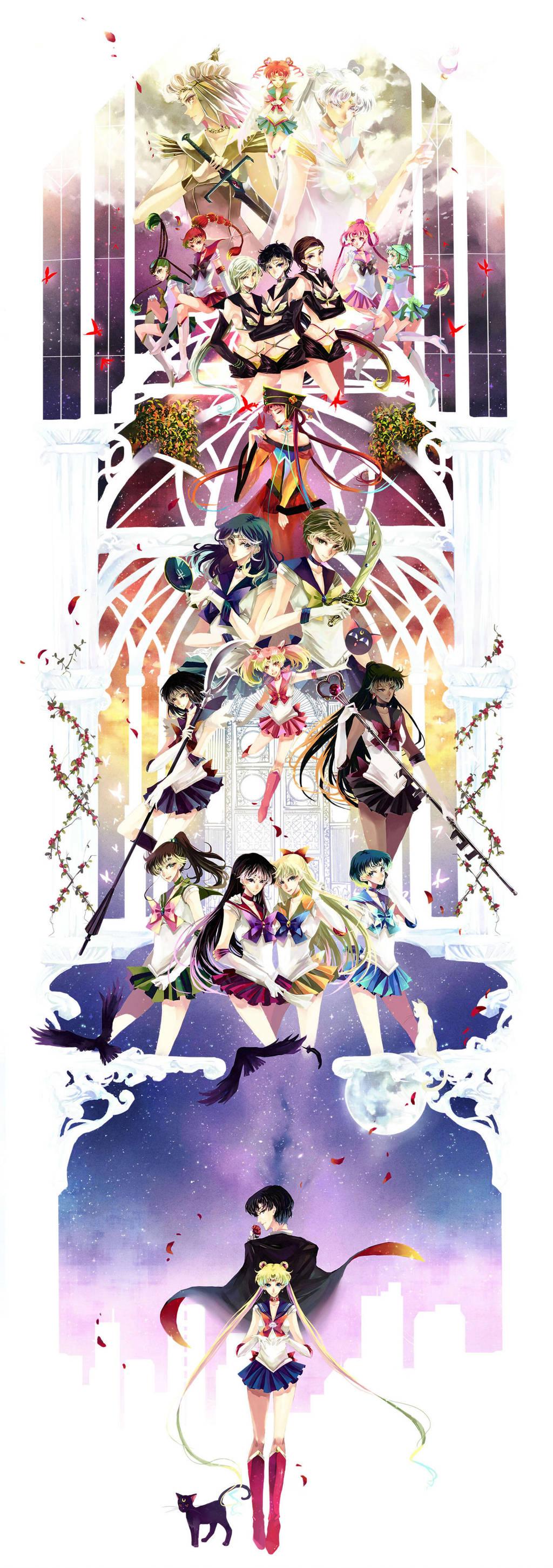 Sailor Moon by nako-75