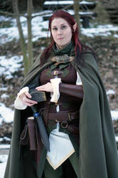 LARP costume - Trader noble elf by wintermass