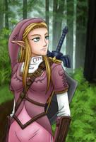 Heroine Zelda by theLostSindar