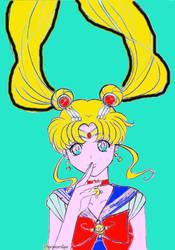 Sailor Moon by sunnylil