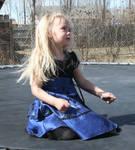 Blue Dress Lexi 61 by Falln-Stock
