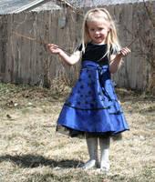 Blue Dress Lexi 67 by Falln-Stock