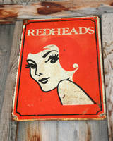 MoA Museum 394 Redheads Sign by Falln-Stock