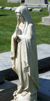 Mount Olivet Cemetery Mary 62 by Falln-Stock