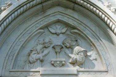 Mount Olivet Cemetery Mausoleum 205 by Falln-Stock