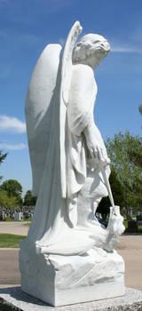 Mount Olivet Cemetery Archangel Michael 282 by Falln-Stock