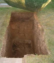 Open Grave by Falln-Stock