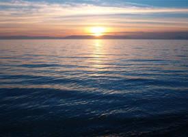 Alameda Ocean Sunset 2 by Falln-Stock