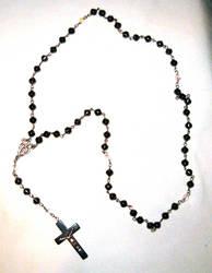 Hematite Rosary by Falln-Stock