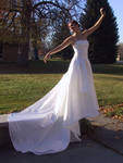 White Gown Terra 6 by Falln-Stock