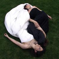 Terra and Moe in Dresses 20 by Falln-Stock