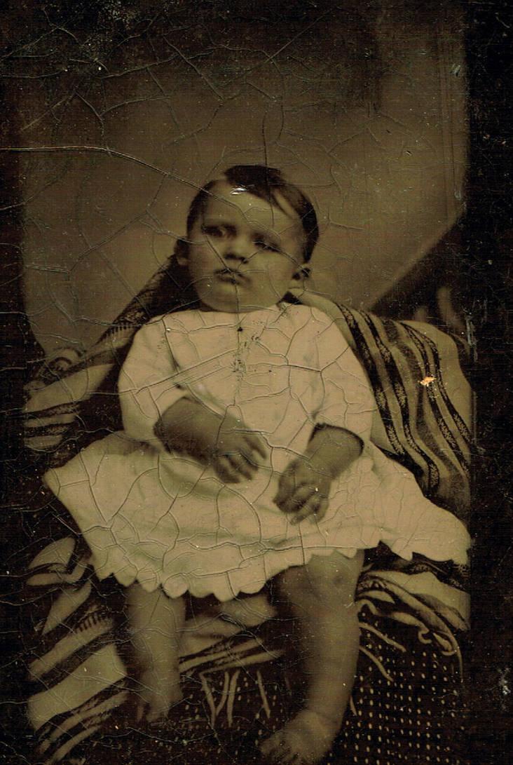Vintage Photo 42 - Post Mortem by Falln-Stock