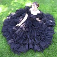 Black Dress Bob 5 by Falln-Stock