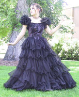 Black Dress Bob 12 by Falln-Stock
