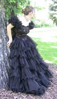 Black Dress Bob 27 by Falln-Stock