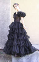 Black Dress Bob 37 by Falln-Stock