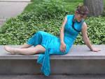 Asian Dress Bob 40 by Falln-Stock