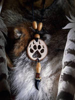 Feral Spirit Totemic Pendant by VoceDelBosco