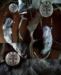 Lupine Spirit Totem by VoceDelBosco