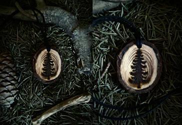 Forest Pendant by VoceDelBosco