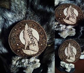 Moon Spirit Woodburning by VoceDelBosco