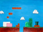 Mario Level by paploothelearned