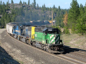 Mixed Freight Through Granite by paploothelearned