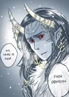 his name is Thor by kuroneko3132
