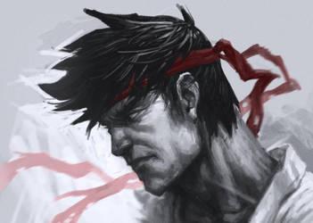 Ryu by DeathMetalDan