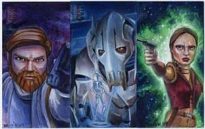Clone Wars Return Cards Set 1 by DavidRabbitte