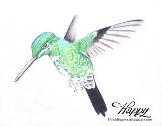 Humming Bird by blue5dragons