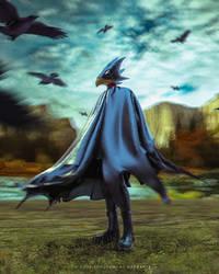 Fumikage Tokoyami - Boku No Hero Academia by TheBakaArts