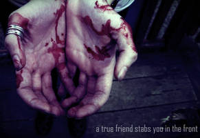 a true friend by Midnight3Flame