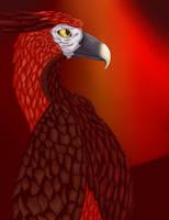 Zamorakian Hawk by pheonixia52