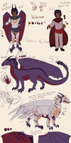 Valoriean Reference Sheet by pheonixia52