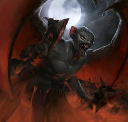 War of Heroes - Gargoyle by MaCalza