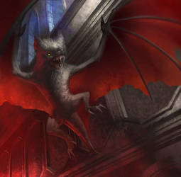 War of Heroes - Night Bat by MaCalza