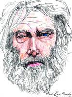 Portrait of Mad-Eye Moody by JackRaz