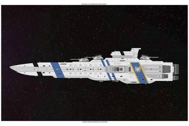 Argo-Class Battleship by skfrank