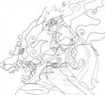 Wolf Head by Ninja-8004