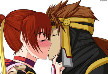 Gift: Ryu and Kasumi by Ninja-8004