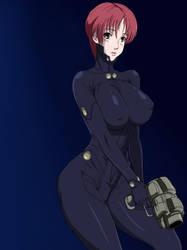 Gantz: Kei Kishimoto by Ninja-8004